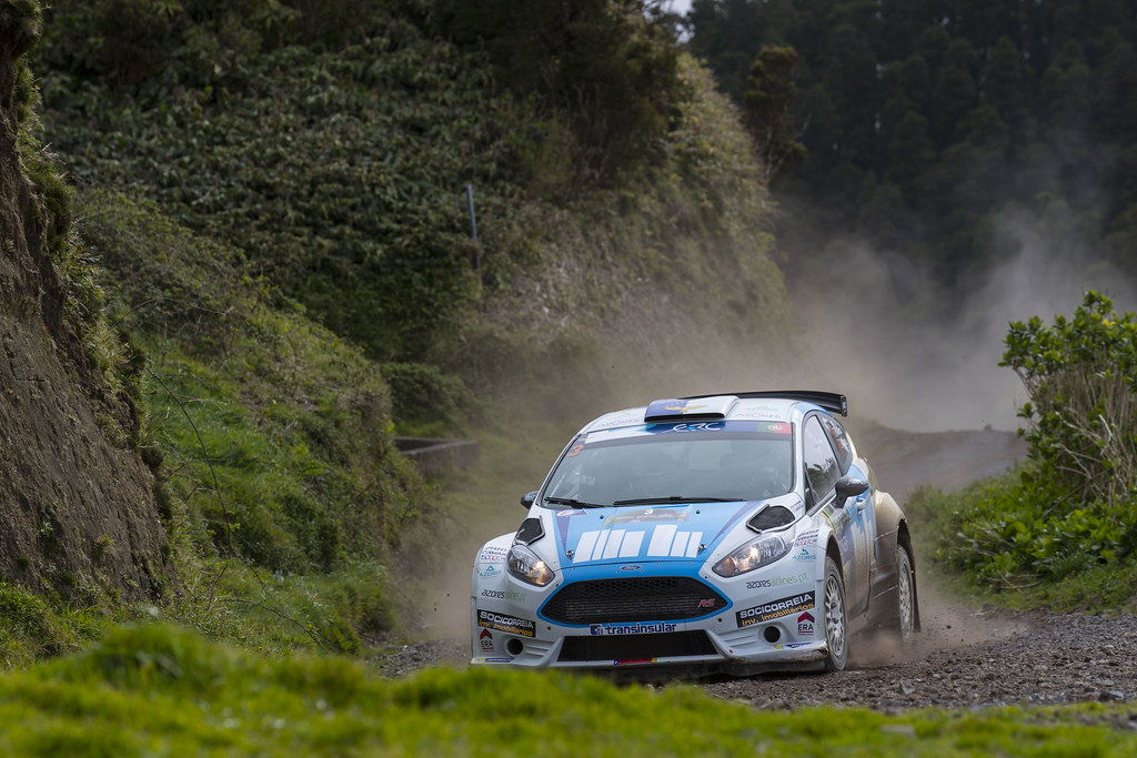 03 MOURA Ricardo COSTA Antonio Ford Fiesta R5 Action during the 2017 European Rally Championship ERC Azores rally,  from March 30  to April 1, at Ponta Delgada Portugal - Photo Gregory Lenormand / DPPI