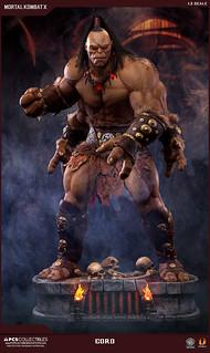 Pop Culture Shock Collectibles 真人快打系列【戈洛】Mortal Kombat X Goro 1/3 比例雕像作品