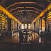 Biblioteca dentro del convento de Santo Domingo