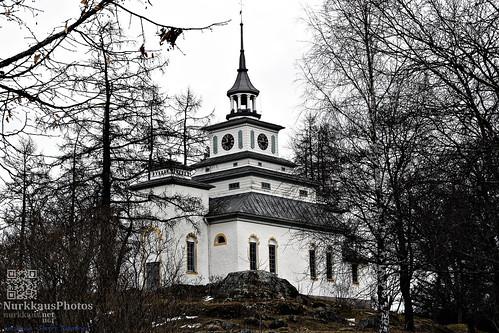 teijonationalpark teijonkansallispuisto talvi winter kirkko church