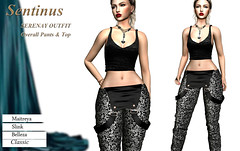 -Sentinus-Serenat Overall Pants and Top Outfit