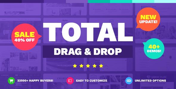 Total v4.0.0 - Responsive Multi-Purpose WordPress Theme