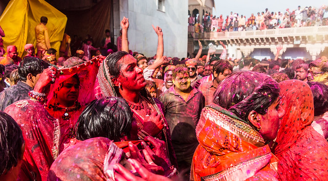 Transgender celebrating Holi series @ Nandgaon,Mathura.