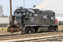 IC 9608 | EMD GP38-2 | CN Hollywood Yard