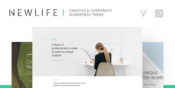 Newlife WordPress Theme free download