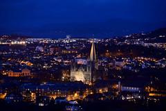 Trondheim 170405-9w2 Utsikten kveld