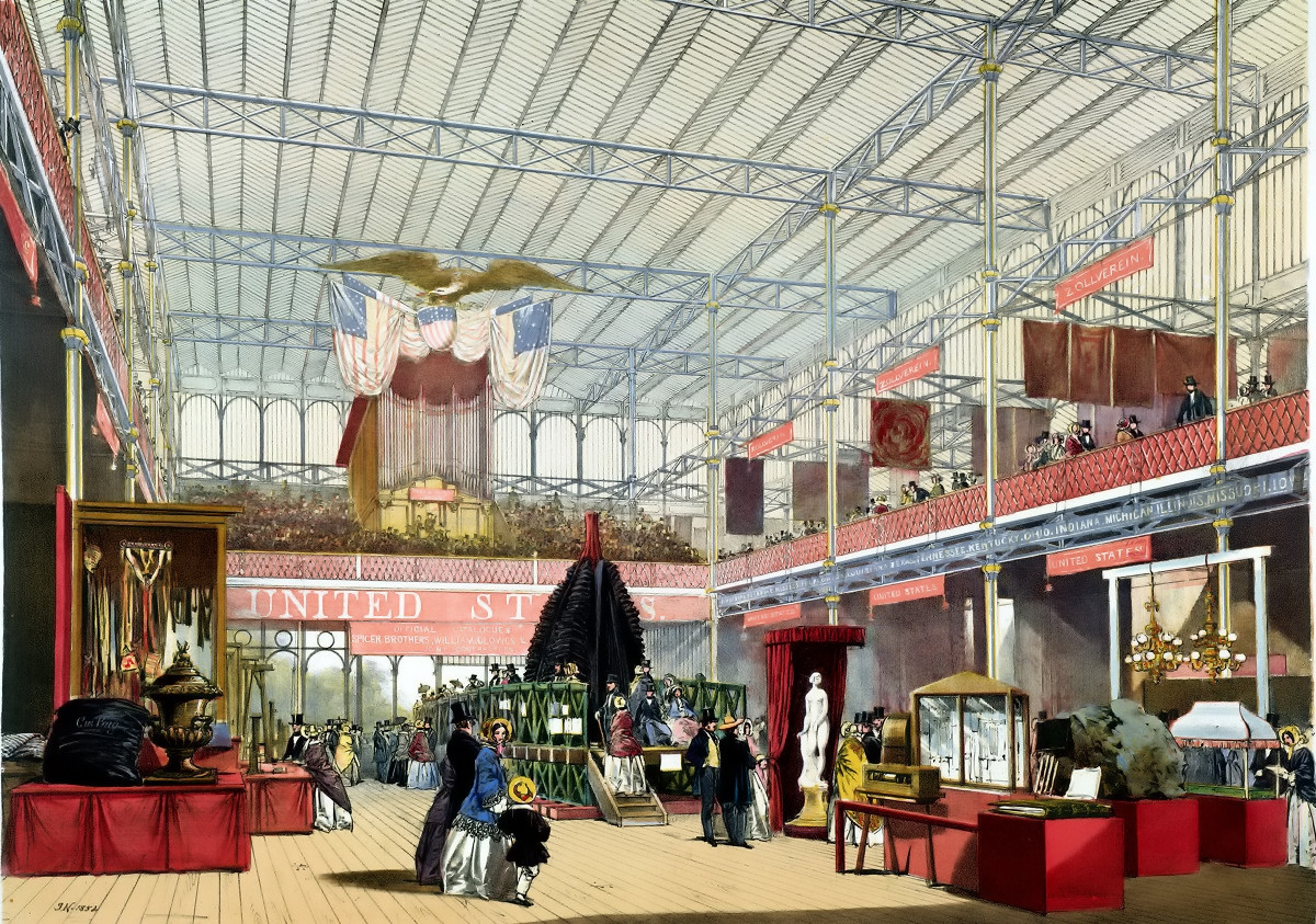 The United States exhibit - Dickinson's comprehensive pictures of the Great Exhibition of 1851