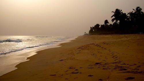 ocean africa sunset beach african atlantic westafrica benin atlanticocean cotonou bénin calebficner