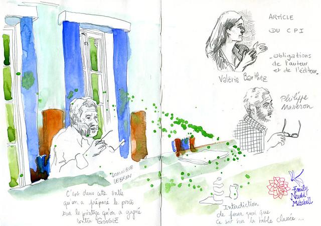 Paris SGDL - La salle, un monument historique