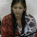 Small photo of Alex Gonzaga inside the PBB confession room