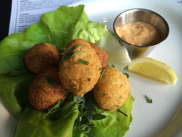 Salt cod croquettes - Mikkeller Bar