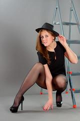 Anya Bo, in studio