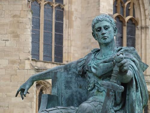Roman Emperor Constantine, York Minster