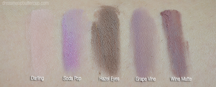 Virginia Olsen 2014 Collection - Matte Swatches
