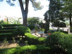 Ronda, Spain - Palacio del Rey Moro Gardens