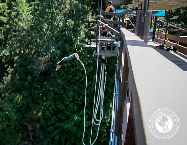 Canada Photo Essay - Bungy Jump