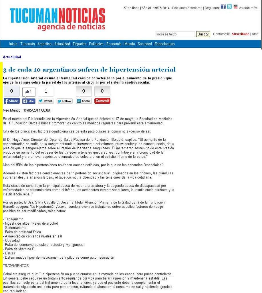 Site Tucuman Noticias 19-05-14
