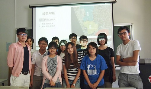 成大環境法修課學生,攝影:李育琴
