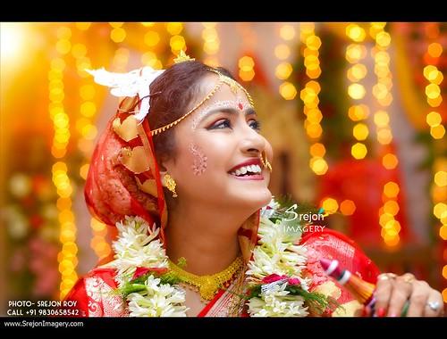 Indian Creative Wedding Photography by Srejon Imagery