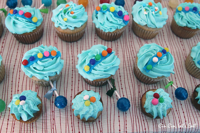 Baby Rattle Cupcakes [recipe] – Cin Cin, Let's Eat!