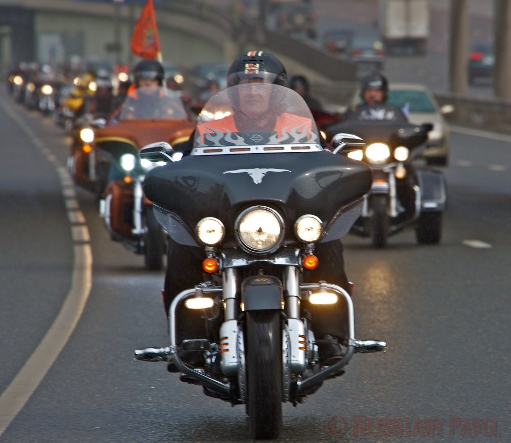 motoriding.ru - harley-davidson, - moscow harley party – Открытие
