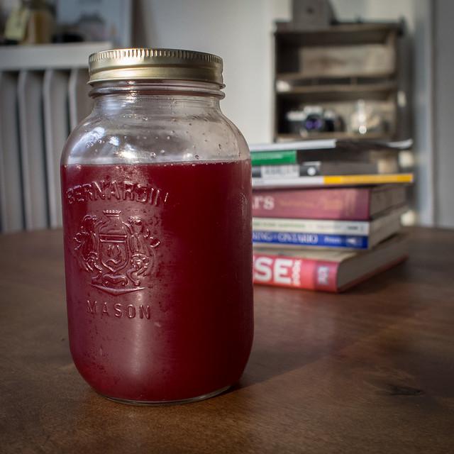 Steam Juicer Results Round 2: Strawberries Strawberry steam juicer