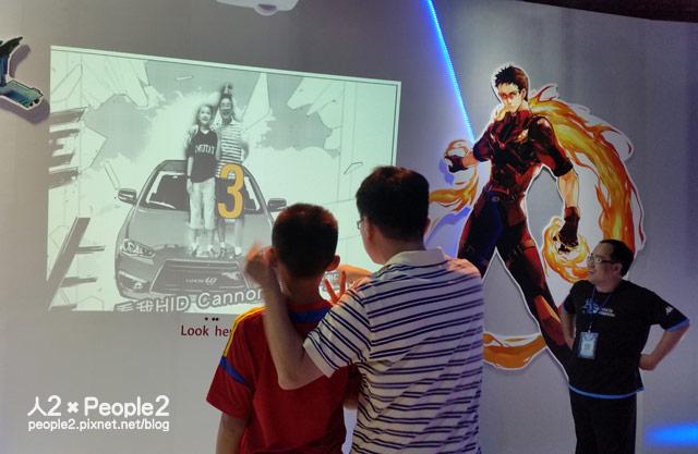三菱LANCER英雄秘密基地LANCERiO漫畫LANCERFORTIS彭傑痛車Mitsubishi週刊少年JUMP超級英雄3D列印人2MappingShow人2的插画星球People2