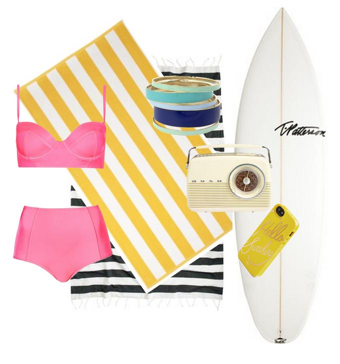 Beach Party, bikini, 1960s, retro swimwear,