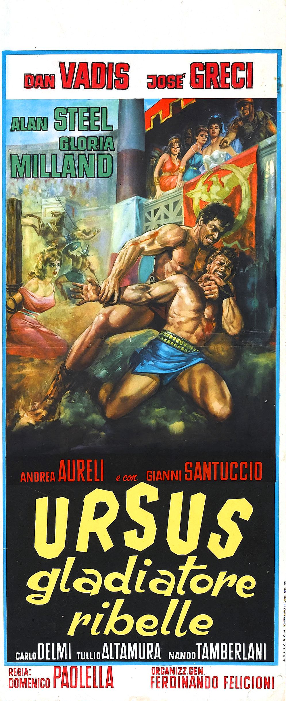 Ursus, the Rebel Gladiator (1962)