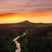 Steptoe Butte and the Palouse River at Sunset by Jim Patterson Photography