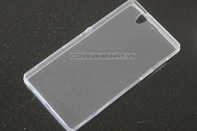 Ốp lưng Sony Xperia Z TPU siêu mỏng trong suốt