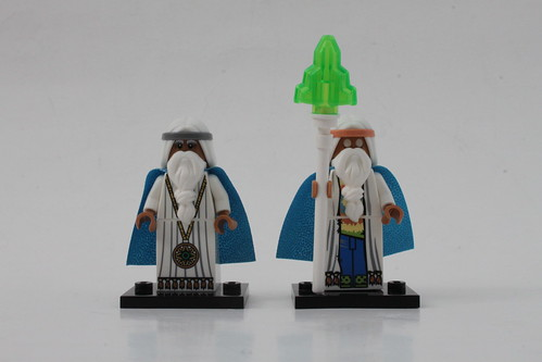 The LEGO Movie Vitruvius Comparison