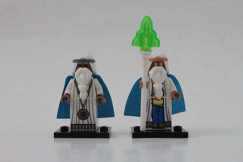 The LEGO Movie Vitruvius Comparison