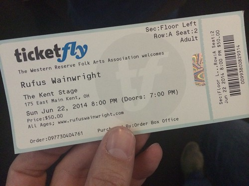 Rufus Wainwright (6/22/14)