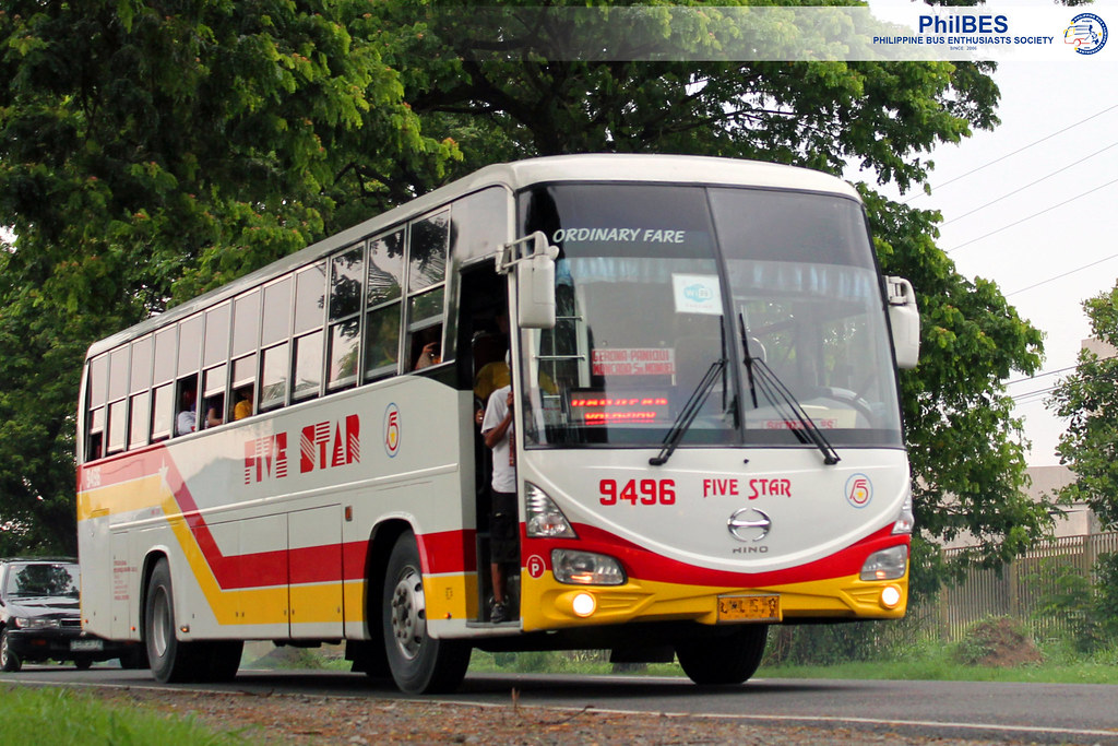 Pangasinan Five Star Bus Company Inc 9496 Date Taken Flickr