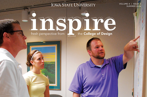 Check out the Summer 2014 issue of our Inspire alumni newsletter!