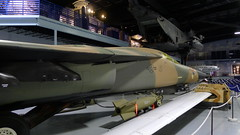 F-111E & Wing section of a RQ-4A Global Hawk