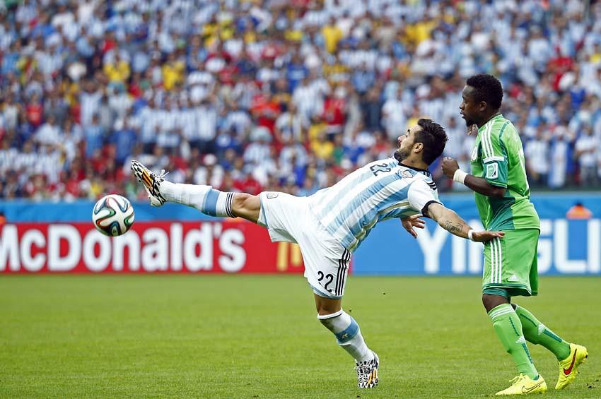 (62)BRASIL-PORTO ALEGRE-MUNDIAL 2014-NIGERIA VS ARGENTINA