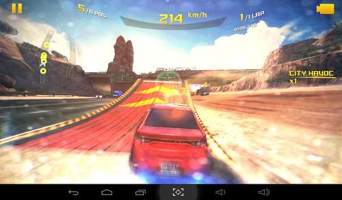 เกม Asphalt 8: Airborne บน i-mobile i-TAB DTV