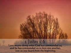 2 John 1:6 nlt