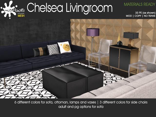 mudhoney chelsea livingroom