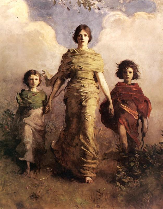 Abbott Handerson Thayer - A Virgin