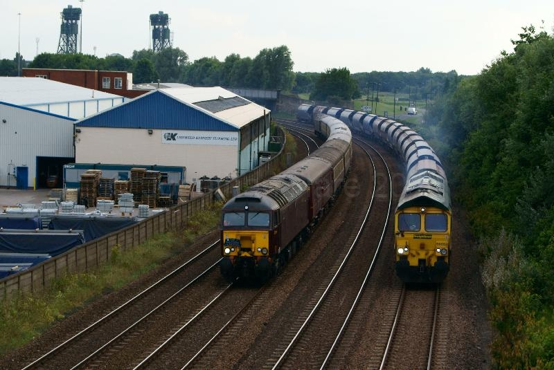 Middlesbrough Train Race