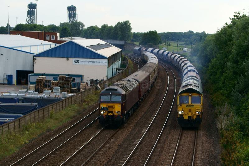 Middlesbrough Train Race