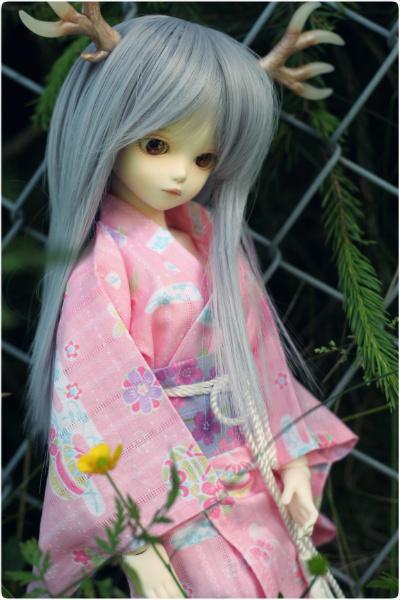 Pink yukata IV