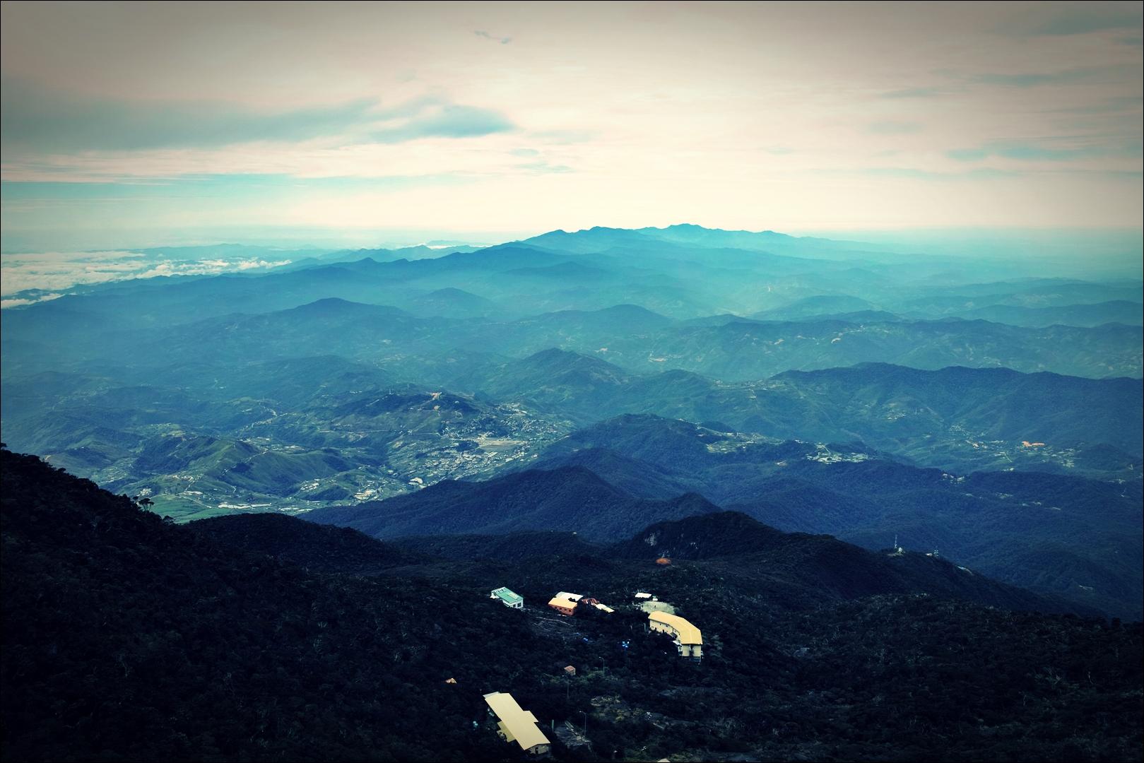 풍경-'키나발루 산 비아 페라타.  The highst Via Ferrata Kinabalu mountain '