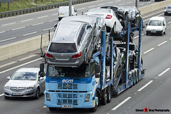 Volvo FM12 380 6x2 Car Transporter - N18 ECM - ECM - M1 J10 Luton - Steven Gray - IMG_9251
