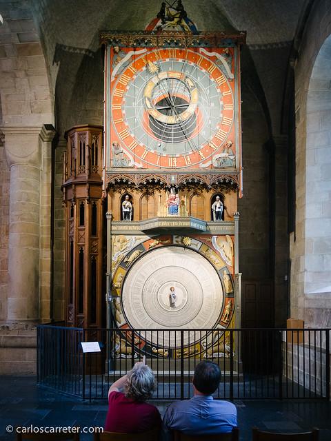 Reloj astronómico en la catedral de Lund (S)