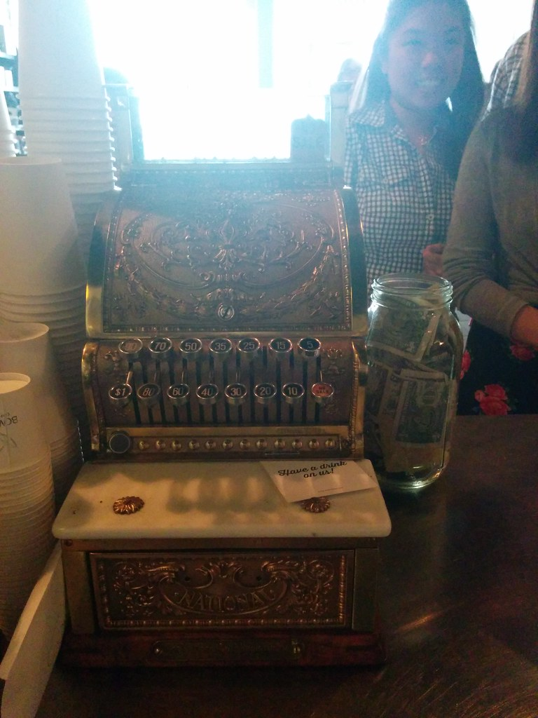 cash register at Bow Truss Coffee Roasters River North