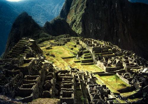 Machu Picchu ,sun rise / Cusco region, Peru / Inca, 15th century